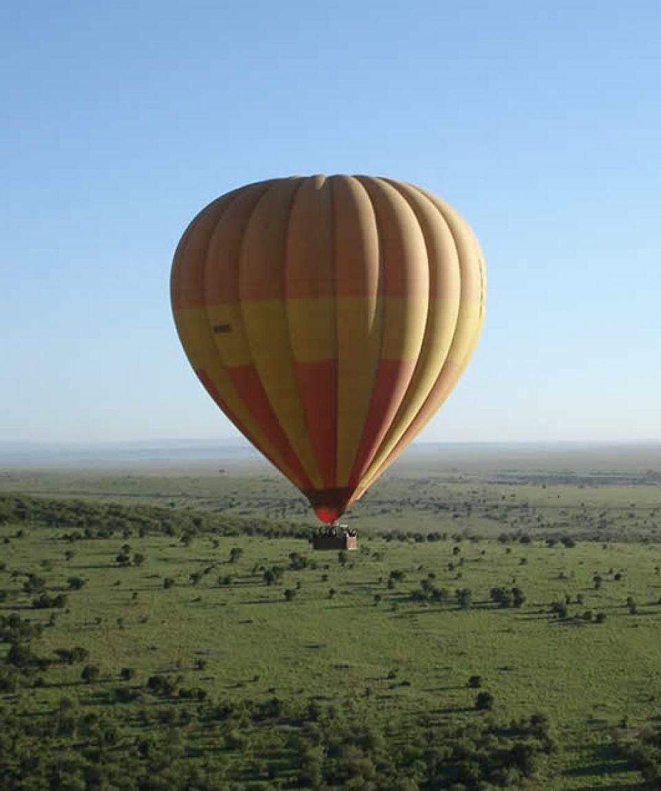 Hot air Murchison Falls National Park