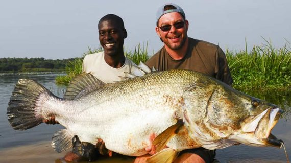 fishing on Murchison Falls National Park